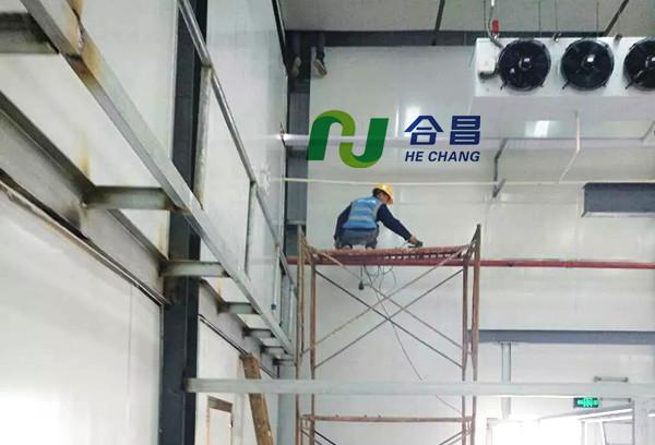 5000吨冷冻库设计建造特点说明