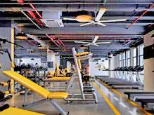 健身房通风降温解决方案