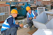 风管材料制作工场