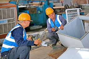 風管材料制作工場