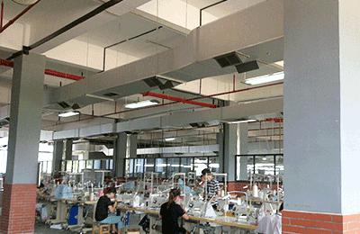 纺织品厂房通风降温